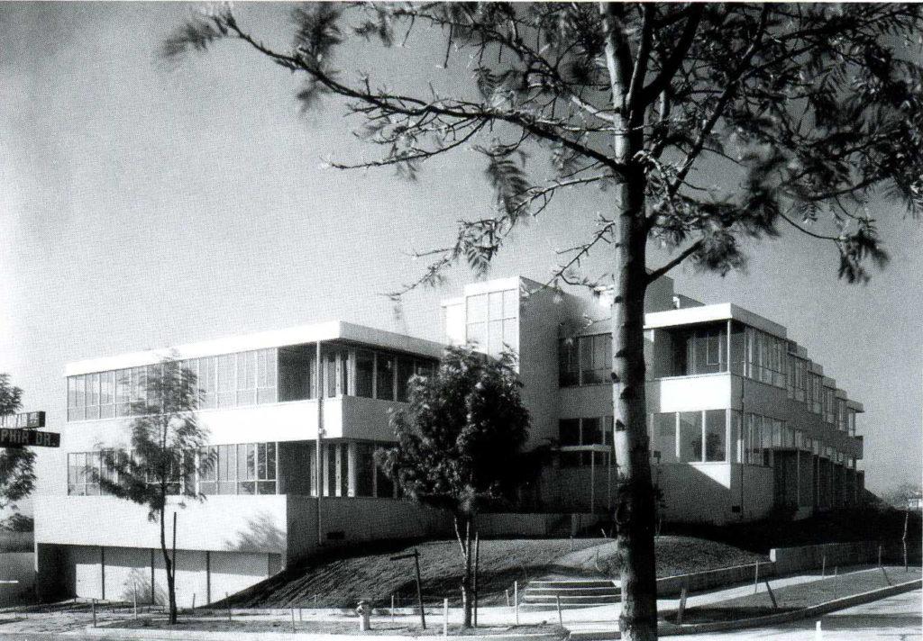 Landfair Apartments Neutra