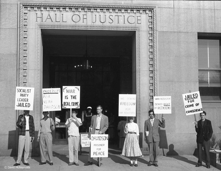 December 5, 1952. Photo: David McReynolds.