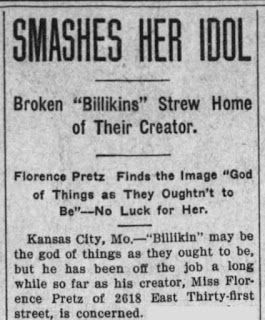 Iron county register - ironton missouri - december 2 1909 page 7 smashes her idols pretz billiken
