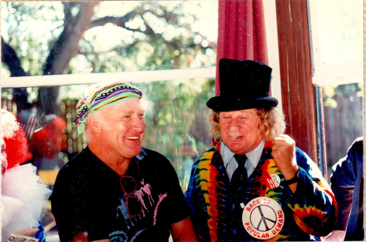 Ken Kesey and Wavy. Photo courtesy of Wavy Gravy