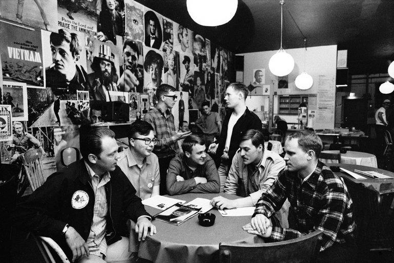 GI Coffee Shop in Takoma.  Photo: New York Times