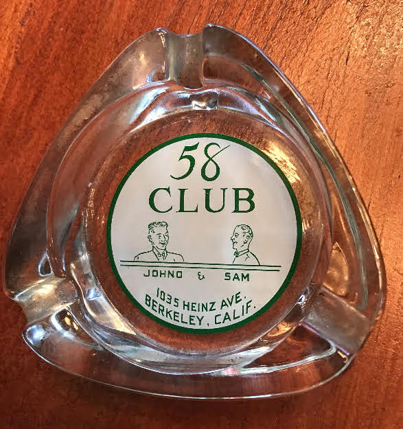 Ashtray 58 Club