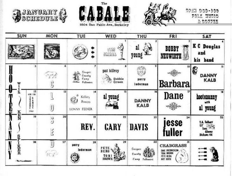 Cabale 19640100