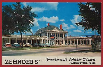 Zehnders-Frankenmuth-Michigan-MI-postcard