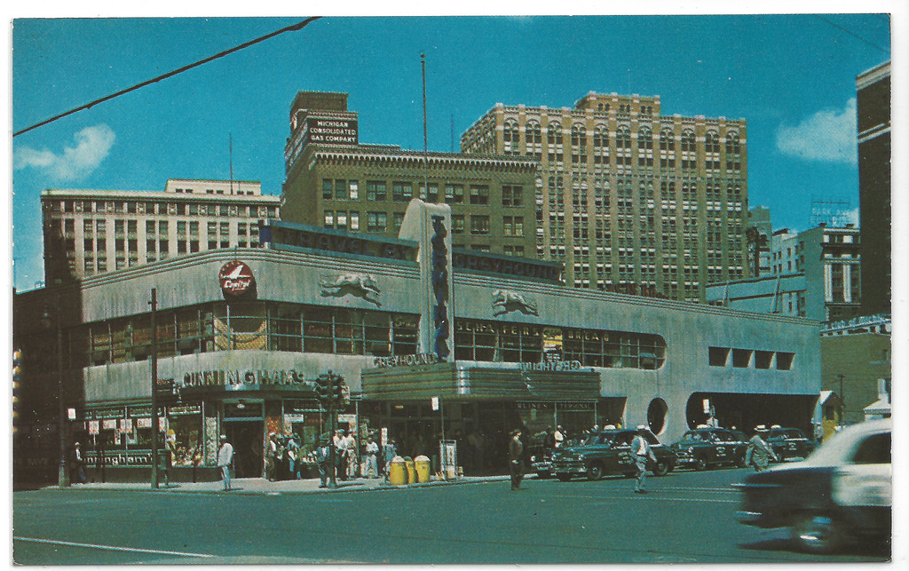 Detroit Greyound Station