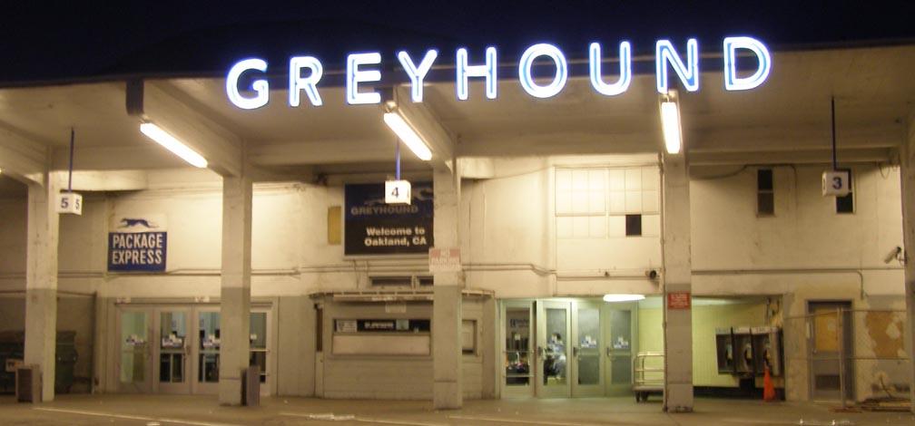 Oakland Greyhound Station