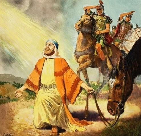 Saul becomes Paul