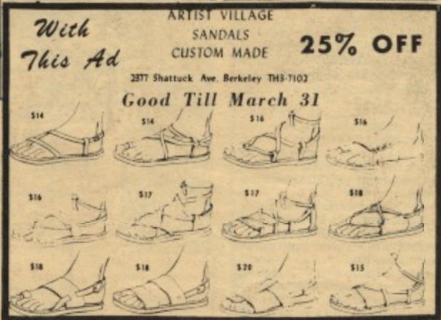 Artist Village Sandals 1