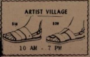 Artist Village Sandals 5