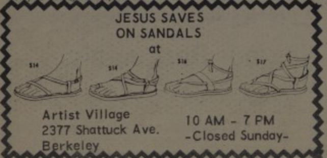 Artist Village Sandals Jesus