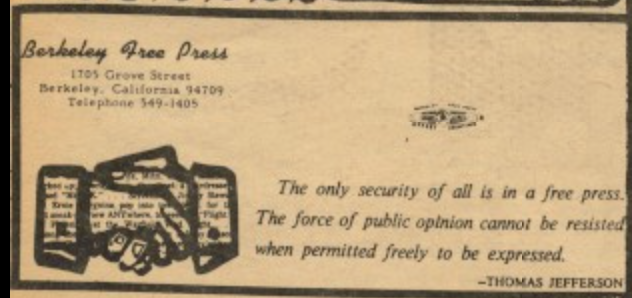 Berkeley Free Press 2