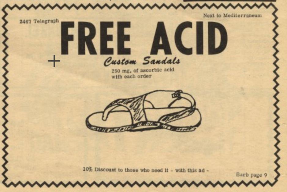 Custom Sandlas Free Acid