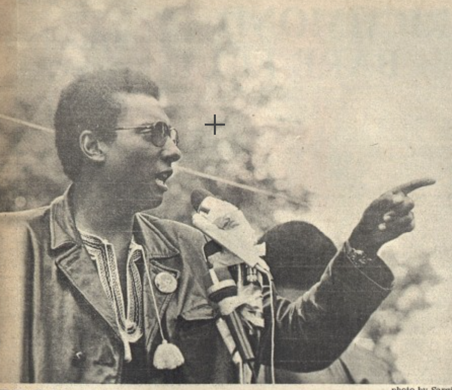 Stokely Carmichael in Berkeley