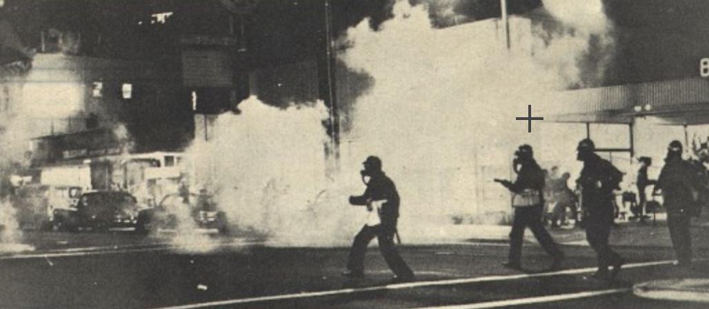 Telly riot
