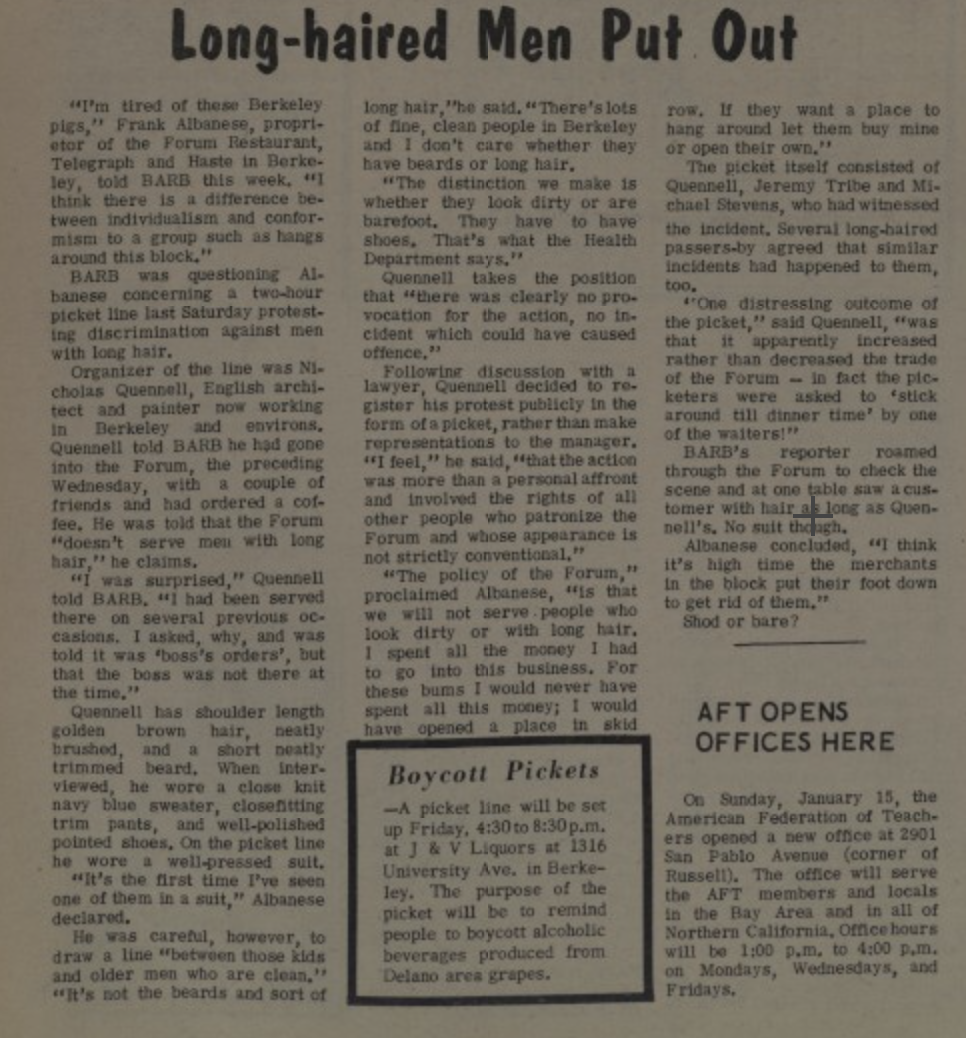 long hair forum article