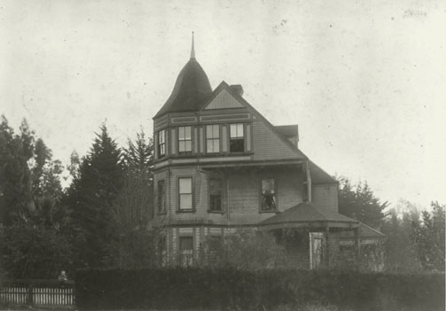 The Lueders house circa 1905 (BAHA archives, courtesy of Thomas Roe)