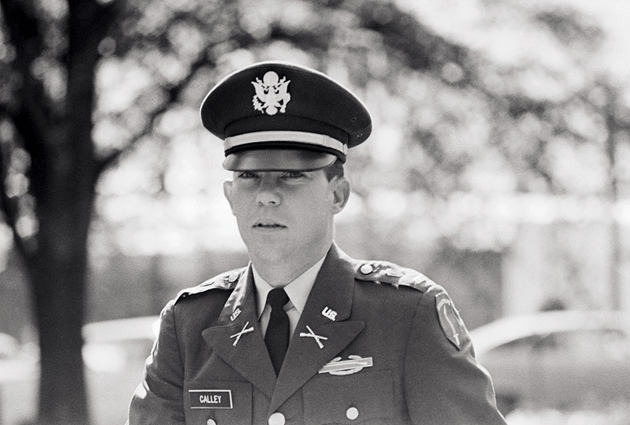 Lt. William Calley, the sole officer convicted with respect to the massacre