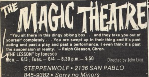 Magic Theatre