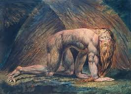 The Rough Beast, painting by William Blake
