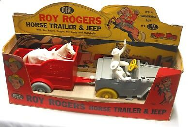 Vintage-Roy-Rogers-Toy-Horse-Trailer-Nellybelle