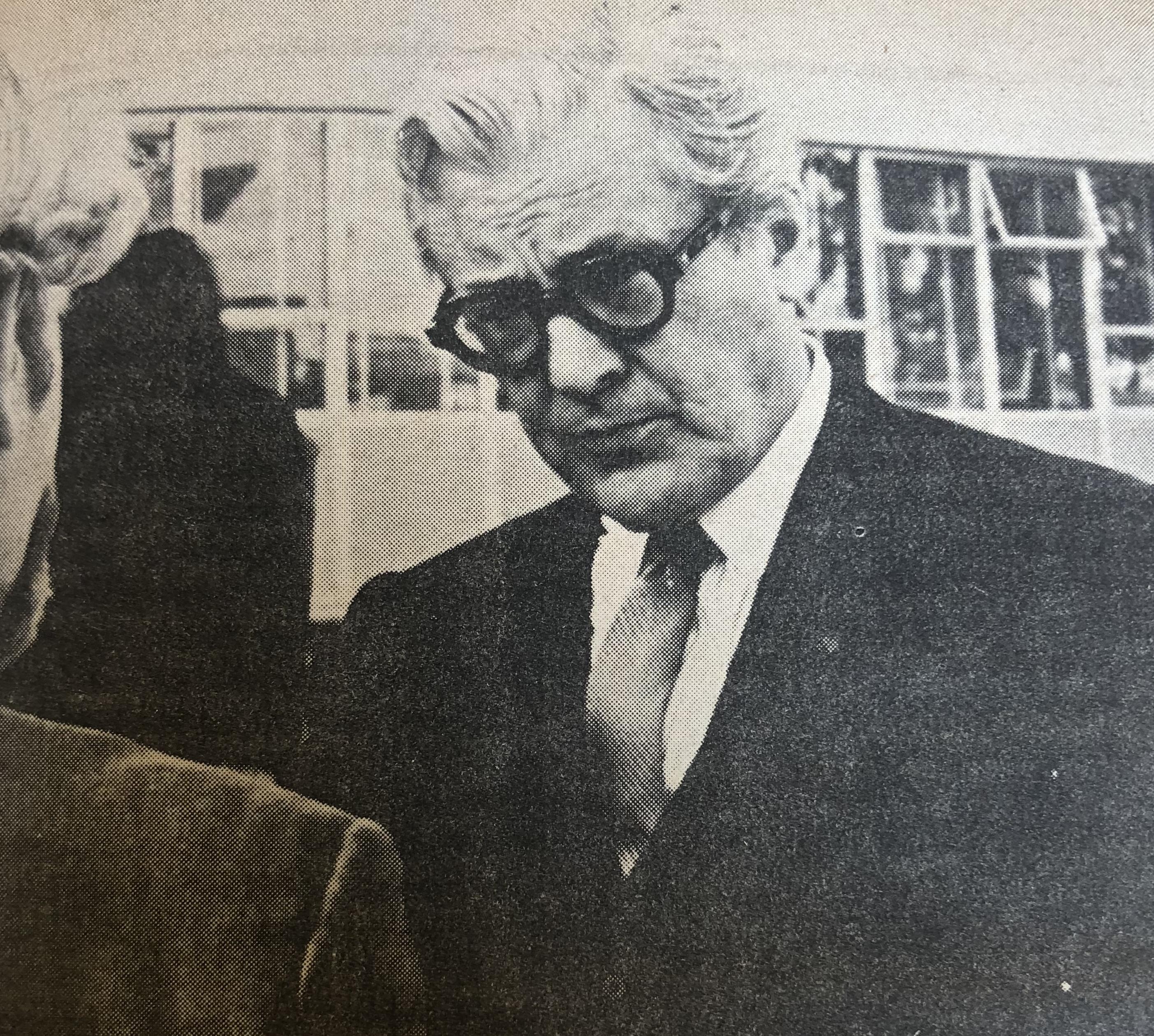 Melvin Belli.  Berkeley Citizen, January 20, 1967