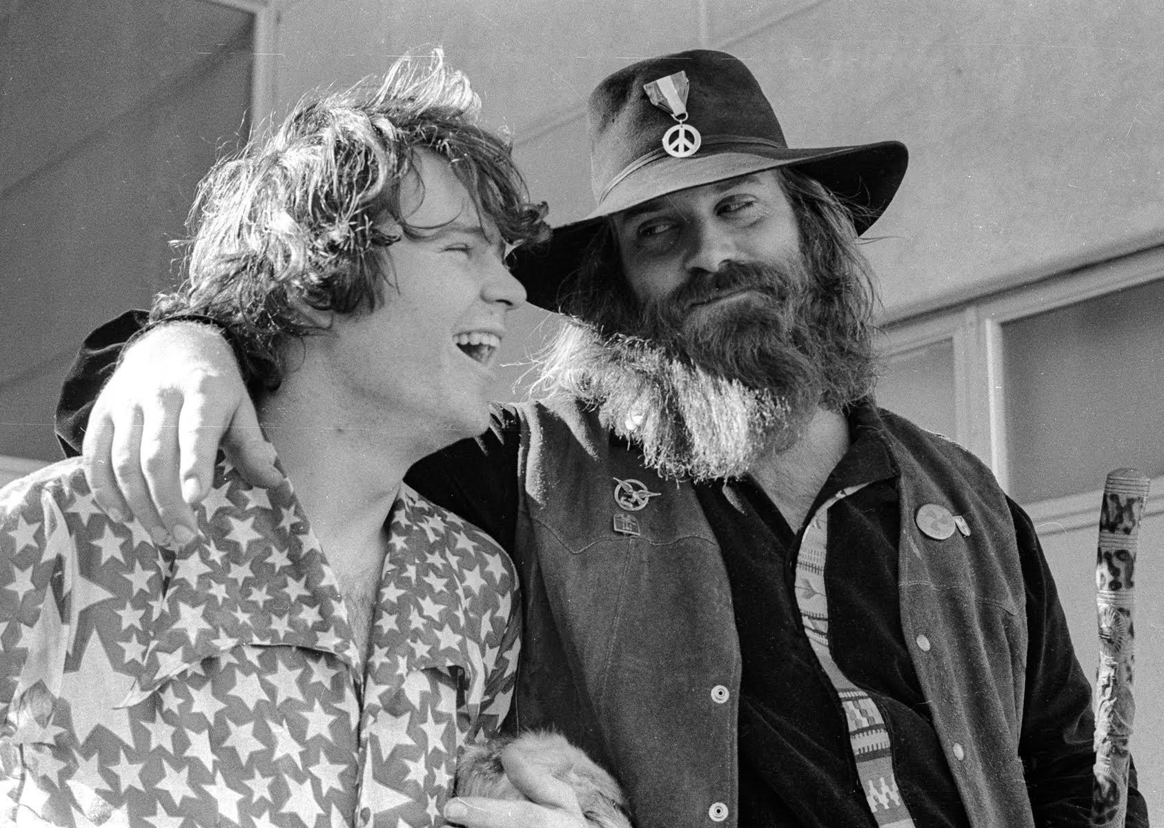 Super Joel and Bill Miller. Photo: Nacio Jan Brown