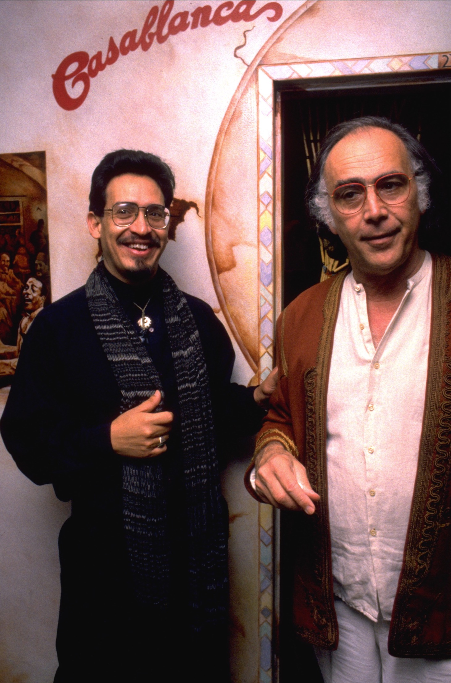 Montoya and Coppola. Photo courtesy of Emmanuel Montoya.