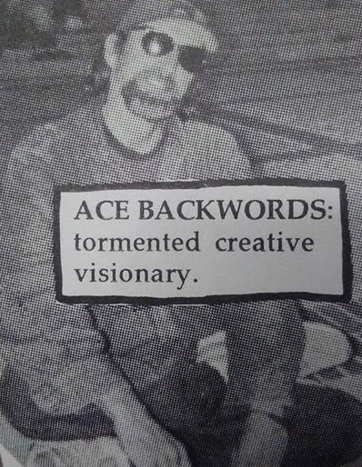Ace Backwards, Telegraph Street Calendar 2004