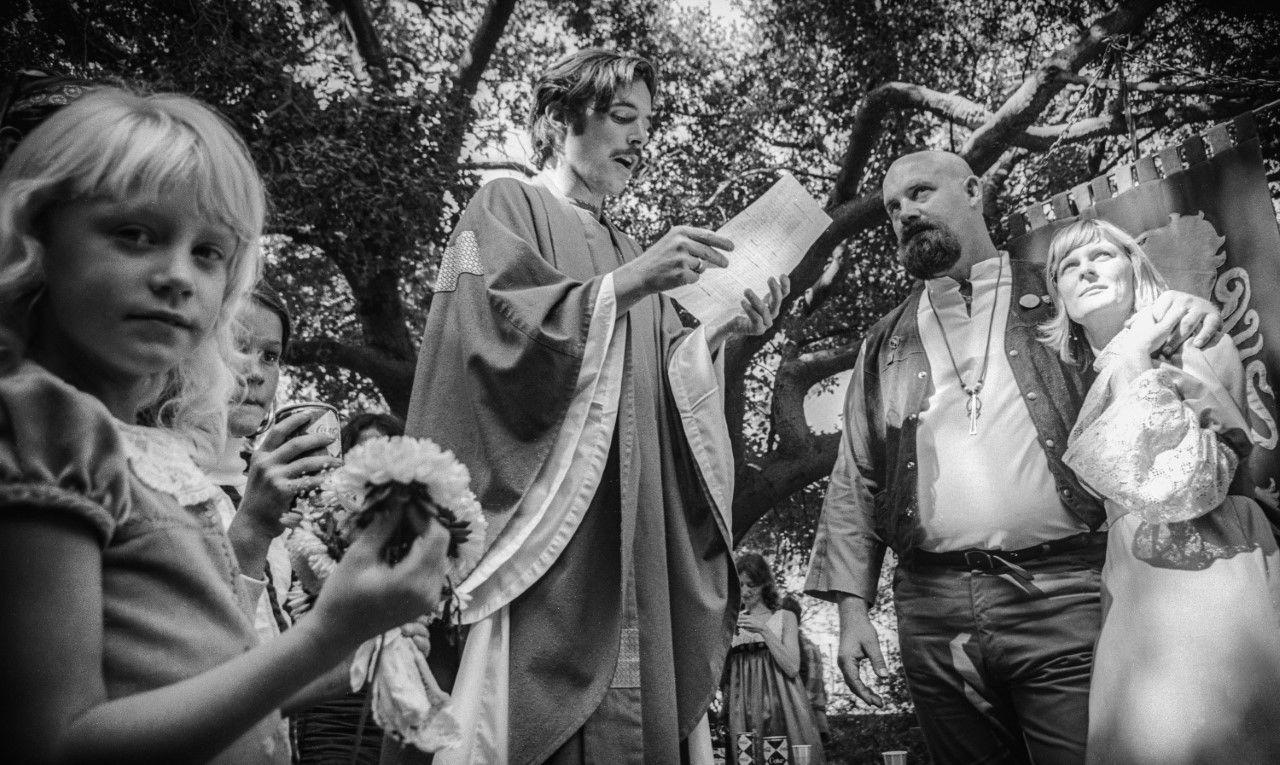 Miller's wedding. Photo: Nacio Jan Brown