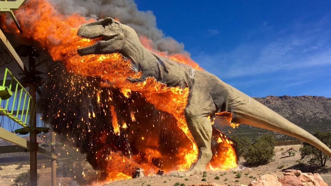 Dino Burning 2