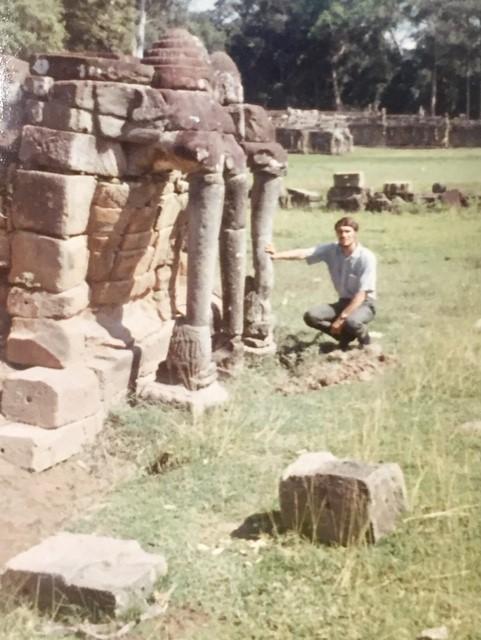 Angkor Watt ruins