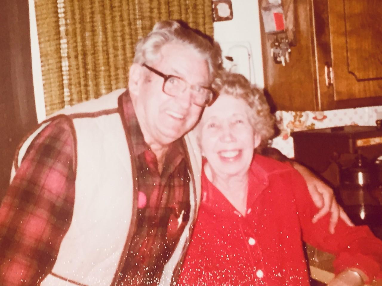 Geyer's parents in 1968. Photo courtesy of Al Geyer
