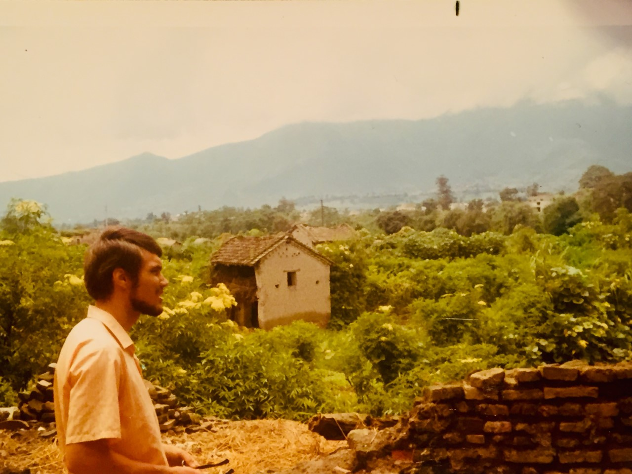 Traveling, 1974. Photo courtesy of Al Geyer
