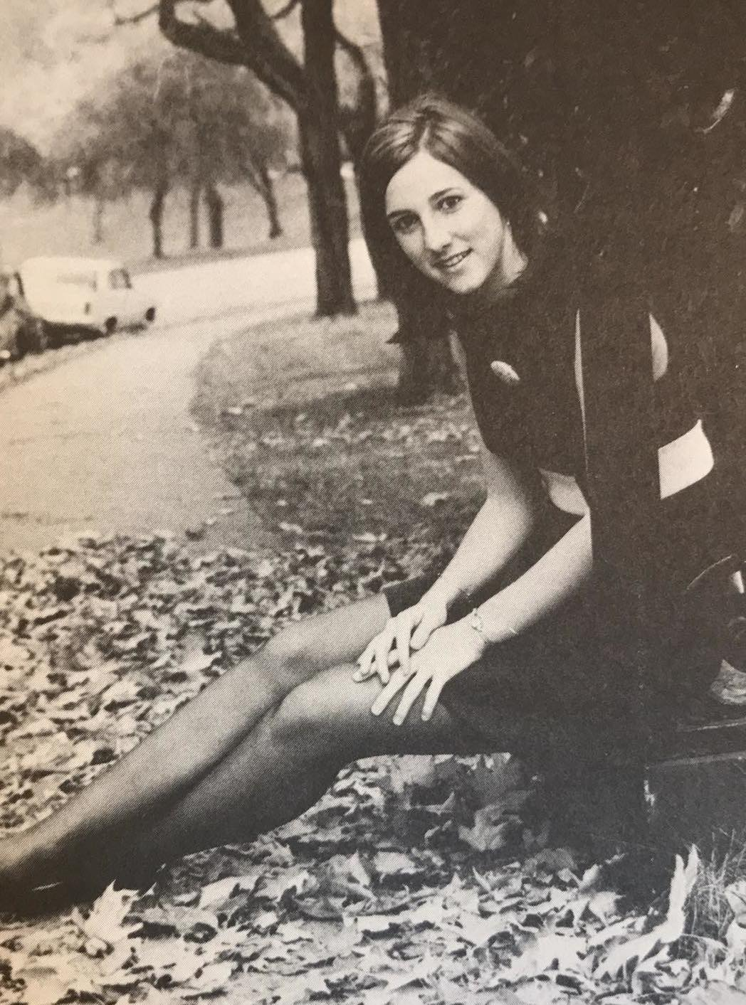 Meg Alexander, from the Baldwin Yearbook, 1969.