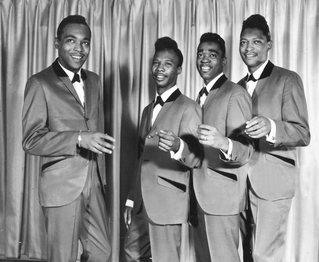 The Dukays, Earl Edwards on the far left.